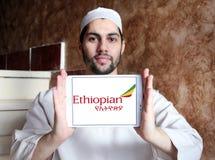 Ethiopian Airlines logo Arkivbild