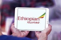 Ethiopian Airlines logo Fotografering för Bildbyråer