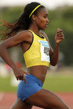 Ethiopian athlete Genzebe Dibaba Stock Photography