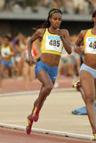 Ethiopian athlete Genzebe Dibaba Royalty Free Stock Photo