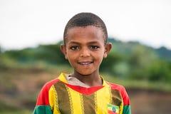 ethiopian barn för pojke Royaltyfri Fotografi