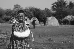 Ethiopian boy, tribù Royalty Free Stock Photo
