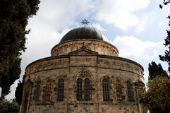 Ethiopian Church in Jerusalem Royalty Free Stock Photos