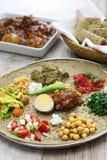 Ethiopian cuisine Royalty Free Stock Images