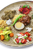 Ethiopian cuisine Stock Photography