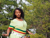 Ethiopian Dancer Royalty Free Stock Image