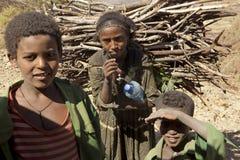 Ethiopian family Royalty Free Stock Image