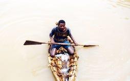 Ethiopian fisherman Stock Photography