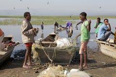 African fishermen Stock Photos