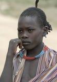 ethiopian folk Fotografering för Bildbyråer