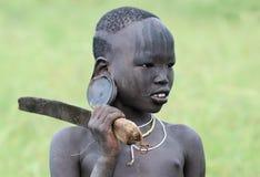 ethiopian folk Arkivfoton