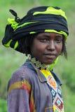 ethiopian folk Royaltyfri Foto
