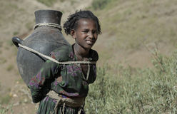 Ethiopian Girl 1 Stock Images