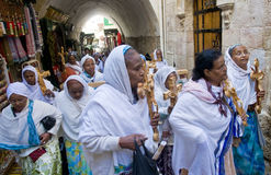 Ethiopian Good Friday Royalty Free Stock Photos
