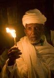 Ethiopian holy fire ceremony Stock Image