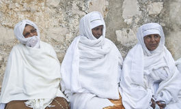 Ethiopian holy fire ceremony Stock Images
