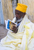 Ethiopian holy fire ceremony Royalty Free Stock Photography
