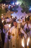 Ethiopian holy fire ceremony Royalty Free Stock Images