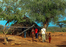 Ethiopian Home Stock Photo