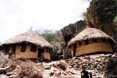 Ethiopian huts Royalty Free Stock Image