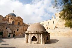 ethiopian jerusalem kloster Royaltyfri Bild