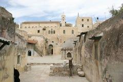 ethiopian jerusalem kloster Arkivfoto