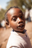 Ethiopian kid at Lalibela Stock Photos