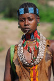 ethiopian kvinna för benna Fotografering för Bildbyråer