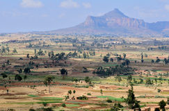 Ethiopian Landscape Stock Photo