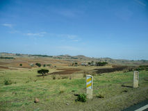 Ethiopian landscape. Royalty Free Stock Images