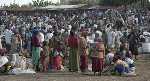 Ethiopian Market 1 Stock Image