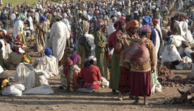 Ethiopian Market 2 Stock Photo