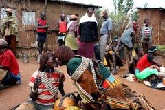 Ethiopian market Stock Photos