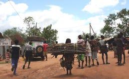 ethiopian marknad Royaltyfri Bild