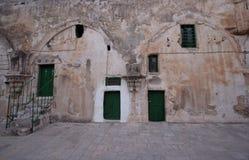 Ethiopian monestary,church of the Holy Sepulchre, Jerusalem Royalty Free Stock Image