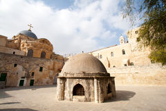 Ethiopian monestary Jerusalem Royalty Free Stock Image