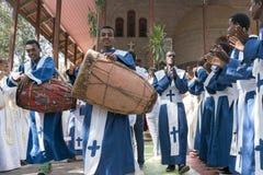 Ethiopian Orthodox Church Choir Stock Image