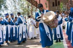 Ethiopian Orthodox Church Choir Royalty Free Stock Images