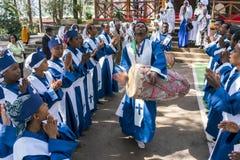 Ethiopian Orthodox Church Choir Stock Photography