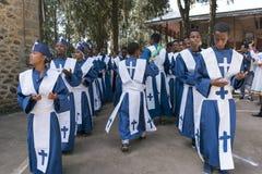 Ethiopian Orthodox Church Choir Royalty Free Stock Photo