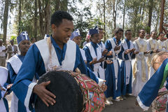 Ethiopian Orthodox Church Choir Royalty Free Stock Photography