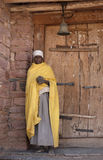ethiopian präst 2 Arkivfoton