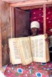 Ethiopian priest Stock Photo