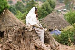 Ethiopian religious man Stock Photos