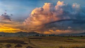 Ethiopian rural landscape Royalty Free Stock Photos