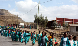 Ethiopian School Children Royalty Free Stock Photo