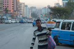 Ethiopian streets Royalty Free Stock Photography