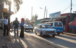 Ethiopian streets Stock Photo