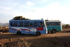 Ethiopian transport Royalty Free Stock Photos