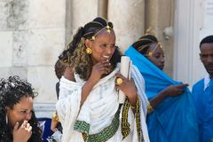 Ethiopian woman Stock Photos